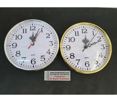Geçme Saat 16 cm Gümüş Veya Gold