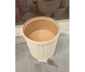 Zeytin Baharat Kuruyemiş Teşhir Kovası Çapı 35 cm Kapaklı