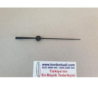 Saat Saniyesi 11,5 cm Plastik Siyah